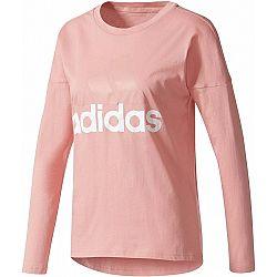 adidas ESSENTIALS LINEAR LONGSLEEVE - Dámské tričko