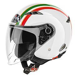 AIROH City One Style bílá/zelená/červená - M (57-58)