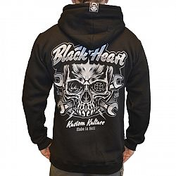 BLACK HEART Trigger Zip černá - XXL