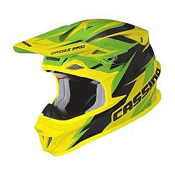 Cassida Cross Pro zelená/žlutá fluo/černá - XXL (63-64)
