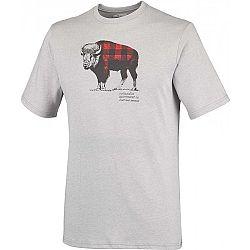 Columbia CSC CHECK THE BUFFALO II - Pánské tričko s krátkým rukávem