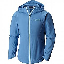 Columbia SPLASH FLASH II HOODED SOFTSHELL JACKET - Dívčí softshellová bunda