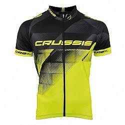 Crussis Crussis černá-fluo žlutá - XXL