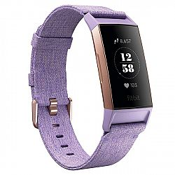 Fitbit Charge 3 Lavender Woven