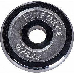 Fitforce NAKLÁDACÍ KOTOUČ 0,75 KG CHROM - Nakládací kotouč