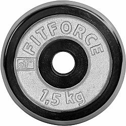Fitforce NAKLÁDACÍ KOTOUČ 1,5KG CHROM - Nakládací kotouč
