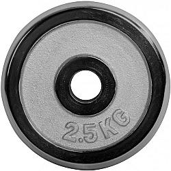 Fitforce NAKLÁDACÍ KOTOUČ 2,5 KG CHROM 30 MM - Nakládací kotouč