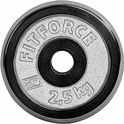 Fitforce NAKLÁDACÍ KOTOUČ 2,5KG CHROM - Nakládací kotouč