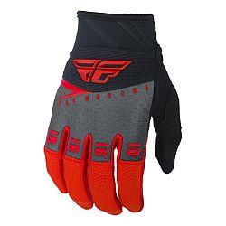 Fly Racing F-16 2019 rukavice červená/černá/šedá - XS