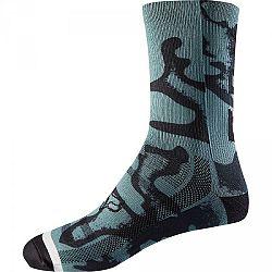 Fox W 8 PRINT SOCK - Cyklistické ponožky
