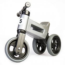 Funny Wheels Rider Sport Silver Grey
