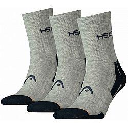 Head PERFORMANCE SHORT CREW 3P - Ponožky