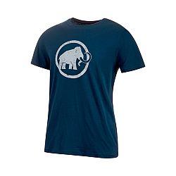 Mammut Logo T-Shirt Men peacoat - M