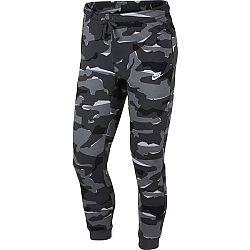Nike NSW CLUB CAMO JGGR BB - Pánské kalhoty