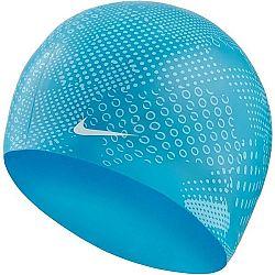 Nike OPTIC CAMO SILICONE CAP - Plavecká čepice