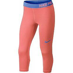 Nike PRO CAPRI - Dívčí legíny
