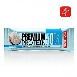 Nutrend Premium Protein 50% Bar 50g cookies cream