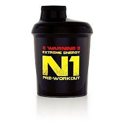 Nutrend Shaker 300 ml černá N1