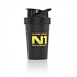 Nutrend Shaker 400 ml černá