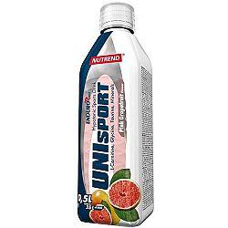 Nutrend UNISPORT 0,5L PINK GREP - Sportovní nápoj