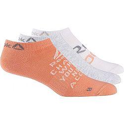 Reebok FOUND W 3P INVISBLE SOCK - Dámské ponožky