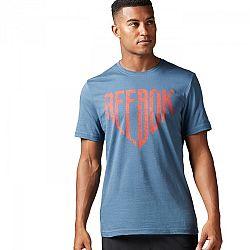 Reebok SUPERMAN SHIELD TEE - Pánské tričko