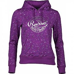 Russell Athletic HOODED SWEAT WITH ALLOVER PRINT - Dámská mikina