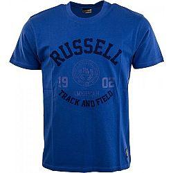 Russell Athletic S/S CREW NECK TEE WITH ROSETTE TWILL - Pánské tričko