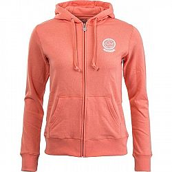 Russell Athletic ZIP TROUGH HOODY ROSETTE - Dámská mikina