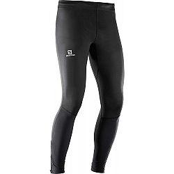 Salomon AGILE LONG TIGHT M - Pánské běžecké kalhoty