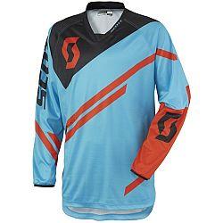 Scott (moto) 350 Track modro-oranžová - M (46-48)