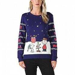 Vans PEANUTS CHRISTMAS CREW - Dámská mikina