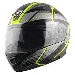 YOHE 950-16 Black-Fluo Green - L (59-60)